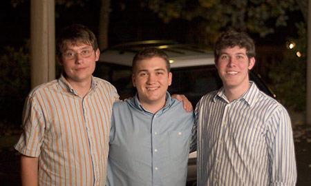 Henry, Luke, and Brian