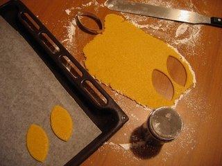 foglie biscotto