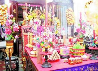 Make Offerings 拜天公 to the Jade Emperor - Chinese Customs and Culture