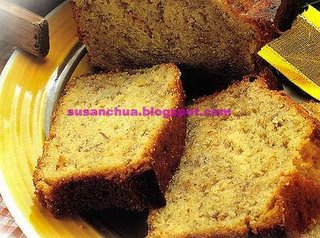 Nonya Kueh and Cake Recipes - Banana Cake