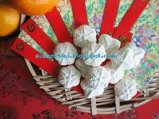 Kueh Bangkit Chinese New Year Cookies Recipes