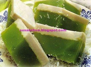 Nonya Kueh & Cake Recipes - Kueh Talam