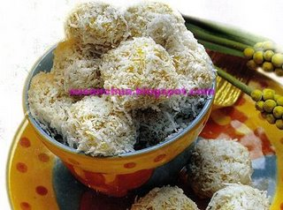 Nonya Kueh & Cake Recipes - Pumpkin Onde Onde