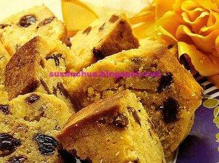 Nonya Kueh and Cake Recipes - Sultana Cake