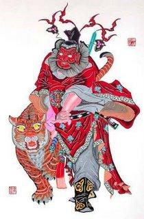 Zhong Kui the ghost catcher