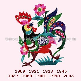 Chinese Zodiac Rooster for Year 2006 生肖運程