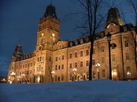 Government buildings, Quebec City