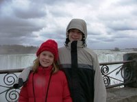 Al and Kate at the Falls