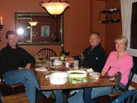 Dinner with Peggy and Doug