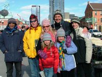 The Smetchers and the Tuque Man... all betuqued!