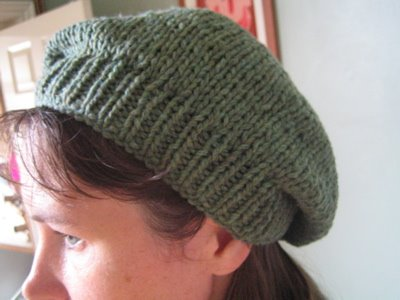 Free Knitting Patterns Berets Easy : petulant feminine