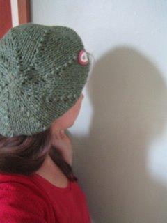 Easy Beret Knitting Pattern Straight Needles : petulant feminine