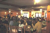 Salle à manger -Refuge Elena TMB Val Ferret