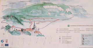 Circuit de Rochetaillée - Ruffieux - Chautagne en Savoie - Lac du Bourget