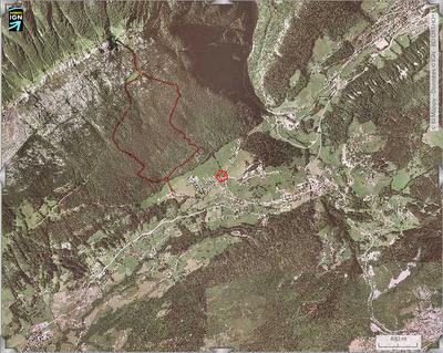 itinéraire de randonnée Le Suet 1826 m 3h