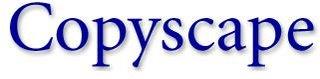 COPYSCAPE, el buscador de copiones