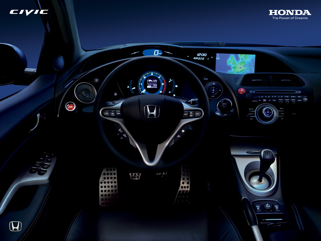 Honda racing honda civic 8 for Honda civic 9 interieur