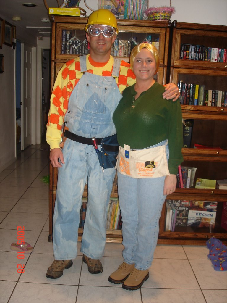 Hubby and I went to a Halloween party on Friday night as Bob the Builder and Wendy. That wig itched so bad but at least the costume was easy to put ...  sc 1 st  A Little Cheese with that Whine? & A Little Cheese with that Whine?: Bob and Wendy