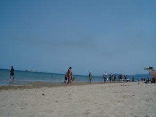 Stranden bortom Corniche, Martil, i juli -06