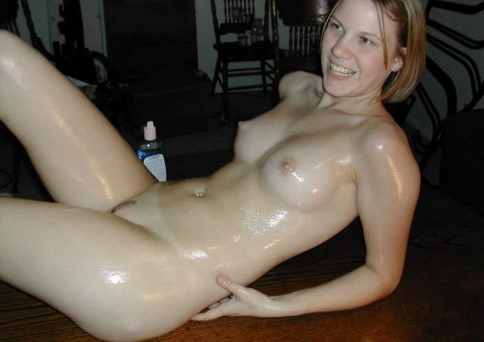 porno amateur oil