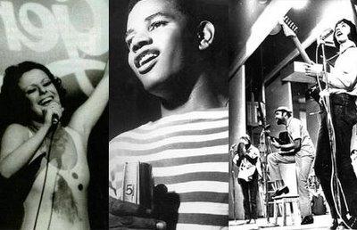 Elis Regina, Jair Rodrigues, Gilberto Gil e os Mutantes