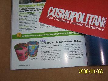 Majalah cosmopolitan indonesia april 2014