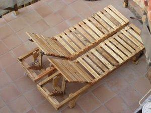 Bricolage tumbona - Hamacas de madera y lona ...