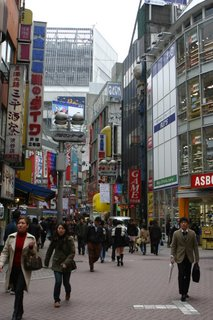 Backpacking in Tokyo, Japan 2004