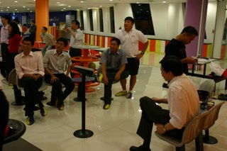 Dragon Chapter 1st Social Activity – Bowling session at Mount Faber Safra