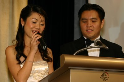 Alvin & Elizabeth Wedding Dinner – Raffles Marina on 25th November 2006