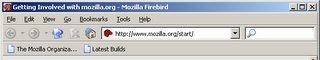 Firebird 0.6 のスクリーンショット