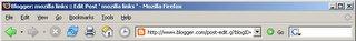 Firefox 1.5 のスクリーンショット