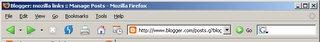 Firefox 0.9 のスクリーンショット