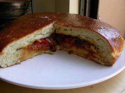Tortino Stuffed Bread Bread