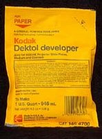 Kodak Dektol developer