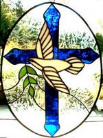 'Peace Dove and Cross' by Glass Rainbow, Annapolis, MD