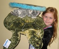 Plush Great A'Tuin and Discworld