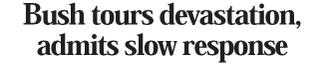 Bush admits headline