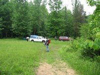 Parking Area at Little Coon Mountain
