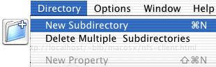 Ways to create a directory