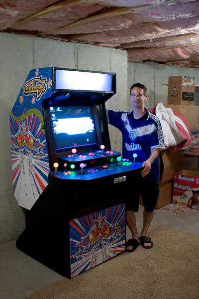 mame arcade machine