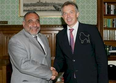 Poodle Blair and Iraqi Deputy PM