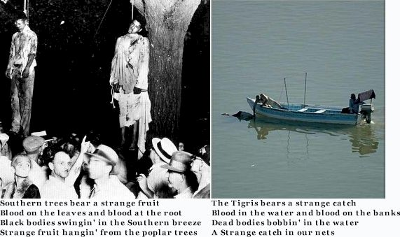 Strange fruit and strange catch same type of people responsible for each
