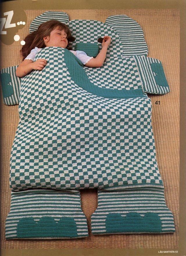 Сшить спальный мешок для ребенка