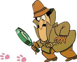 ピンク・パンサーを捕まえようと奮闘するクルーゾー警部