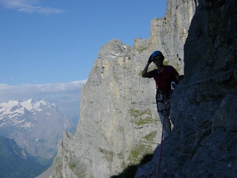 Klettersteig Tälli : Kgds profil: tälli klettersteig