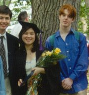 Munch at my Wellesley College graduation '98