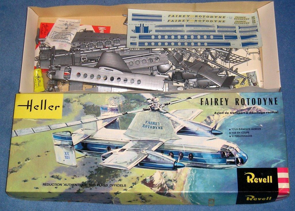 montage d'un Fairey rotodyne 1/78 Revell - Page 2 P9070232