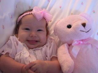 Lindsay at 4 months