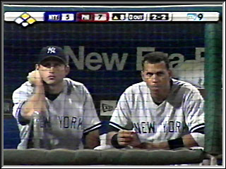 Bubba Crosby and Alex Rodriguez